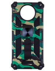 Чохол Shockproof Camouflage для Xiaomi Poco X3 / Poco X3 Pro (зелений)