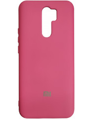 Чохол Silicone Case Xiaomi Redmi 9 (бордовий)