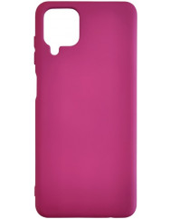 Чохол Silicone Case Samsung A22 (бордовий)