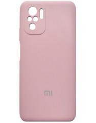 Чoхол Silicone Case Xiaomi Redmi Note 10/ Note 10S (рожевий пісок)