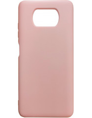 Чохол Silicone Case Xiaomi Poco X3 / Poco X3 Pro (персиковий)