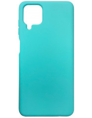 Чохол Silicone Case Samsung A12 (м'ятний)