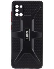 Чохол TPU+PC UAG Samsung Galaxy A31 (чорний)