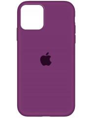 Чохол Silicone Case Iphone 12 Pro Max (бордовий)