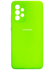 Чохол Silicone Case Samsung Galaxy A52 (зелений неон)