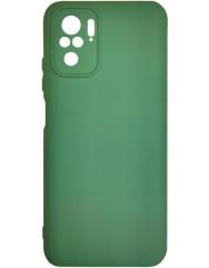 Чoхол Silicone Case Xiaomi Redmi Note 10/ Note 10S (темно-зелений)