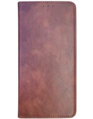 Книга VIP Samsung Galaxy A22 (коричневий)