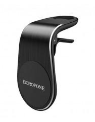 Автомобільний тримач магнітний Borofone BH10 Black (Чорний)