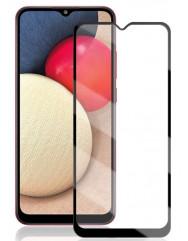 Скло Samsung Galaxy A02 (5D Black)