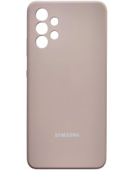 Чохол Silicone Case Samsung Galaxy A32 (рожевий пісок)