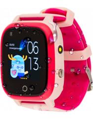 Детские умные часы AmiGo GO005 4G WIFI Thermometer (Pink)