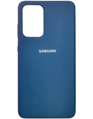 Чохол Silicone Case Samsung Galaxy A52 (синій)