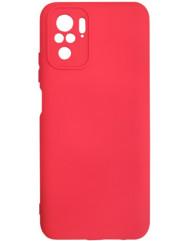 Чoхол Silicone Case Xiaomi Redmi Note 10/ Note 10S (червоний)