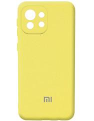 Чохол Silicone Case Xiaomi Mi 11 Lite (жовтий)