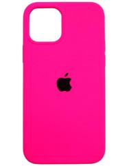 Чохол Silicone Case Iphone 12 /12 Pro (яскраво-рожевий)
