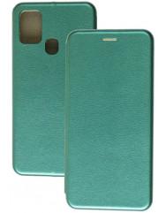 Книга Premium Samsung Galaxy A21s (темно-зелений)