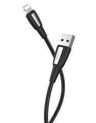 Кабель Hoco X39 Titan Lightning (черный) 1м