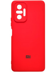 Чохол Silicone Case Xiaomi Redmi Note 10 Pro (червоний)