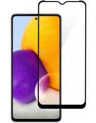 Стекло Samsung Galaxy A72 (5D Black) 0.33mm