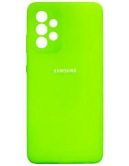 Чохол Silicone Case Samsung Galaxy A72 (зелений неон)
