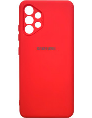 Чохол Silicone Case Samsung Galaxy A32 (червоний)