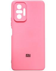 Чохол Silicone Case Xiaomi Redmi Note 10 Pro (рожевий)