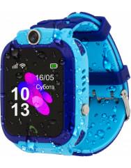 Дитячий розумний годинник AmiGo GO002 Swimming Camera (Blue)