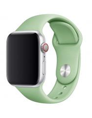 Ремінець силіконовий для Apple Watch 42/44mm (м'ятний)