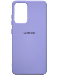 Чохол Silicone Case Samsung Galaxy A52 (лавандовий)