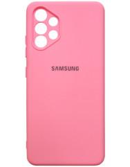 Чохол Silicone Case Samsung Galaxy A32 (рожевий)
