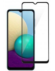 Скло броньоване Samsung Galaxy A02/ A02s/ A12 (5D Black)
