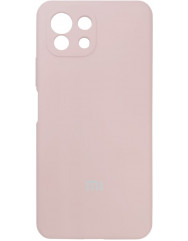 Чохол Silicone Case Xiaomi Mi 11 Lite (бежевий)