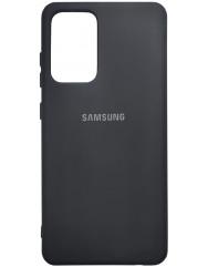 Чохол Silicone Case Samsung Galaxy A72 (чорний)
