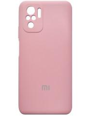 Чoхол Silicone Case Xiaomi Redmi Note 10/ Note 10S (рожевий)