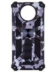 Чохол Shockproof Camouflage для Xiaomi Poco X3 / Poco X3 Pro (сірий)