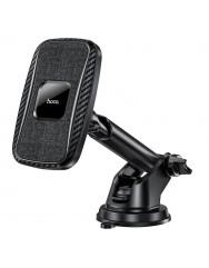 Автотримач з бездротовою зарядкою Hoco CA75 (Black)