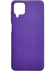 Чохол Silicone Case Samsung A12 (фіолетовий)