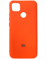 Чохол Silicone Case Xiaomi Redmi 9C (оранжевий)