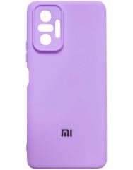Чохол Silicone Case Xiaomi Redmi Note 10 Pro (лавандовий)