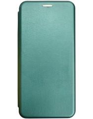 Книга Premium Samsung Galaxy A12 (темно-зелений)