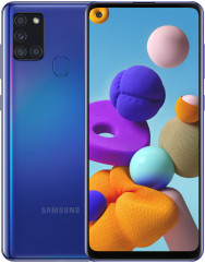Samsung A217F Galaxy A21s 4/64Gb (Blue) EU - Офіційний