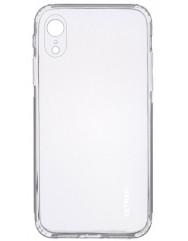 Чохол силіконовий Getman iPhone XR (прозорий)