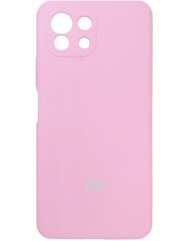 Чохол Silicone Case Xiaomi Mi 11 Lite (рожевий)