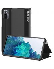 Чохол-книжка Smart View Cover Xiaomi Redmi Note 10 Pro (чорний)