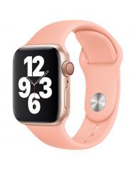 Ремінець силіконовий для Apple Watch 38/40mm (рожевий)
