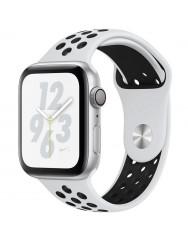 Ремінець Sport Nike + для Apple Watch 42/44mm (білий/чорний)