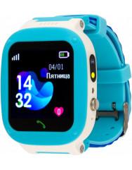 Дитячий розумний годинник AmiGo GO004 Splashproof Camera LED (Blue)