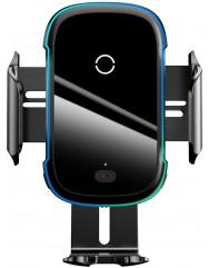 Автотримач з бездротовою зарядкою Baseus Light electric 15W WXHW03-01 (Black)