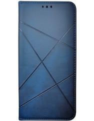 Книга Business Leather Xiaomi Poco X3 / Poco X3 Pro (синій)