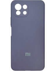 Чохол Silicone Case Xiaomi Mi 11 Lite (темно-синій)